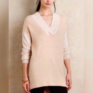 Anthropologie Moth Wool/Alpaca Cream Sweater